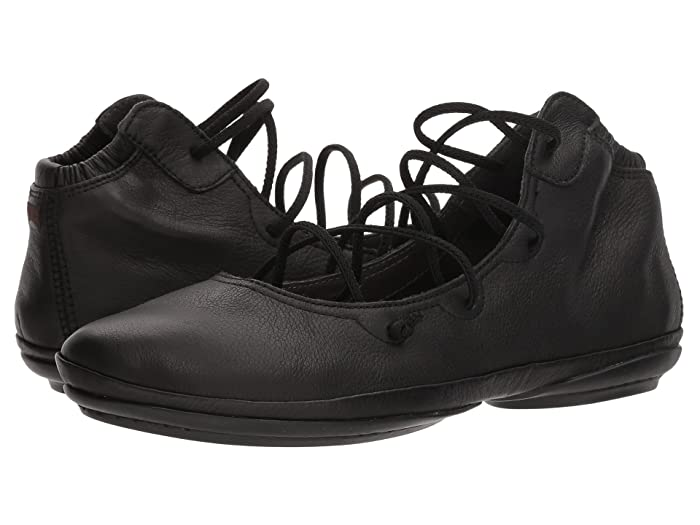 1940s Style Shoes, 40s Shoes, Heels, Boots Camper Right Nina - K400194 Black 1 Womens Shoes $170.00 AT vintagedancer.com