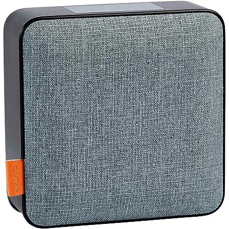 Sackit Woofit Dab Bluetooth Lautsprecher Multifunktionale Musikbox Mit Radio Und Weckfunktion Bluetooth Box Mit 5 In 1 Lösung Für Unterwegs Oder Zuhause Schwarz Und Grau Heimkino Tv Video