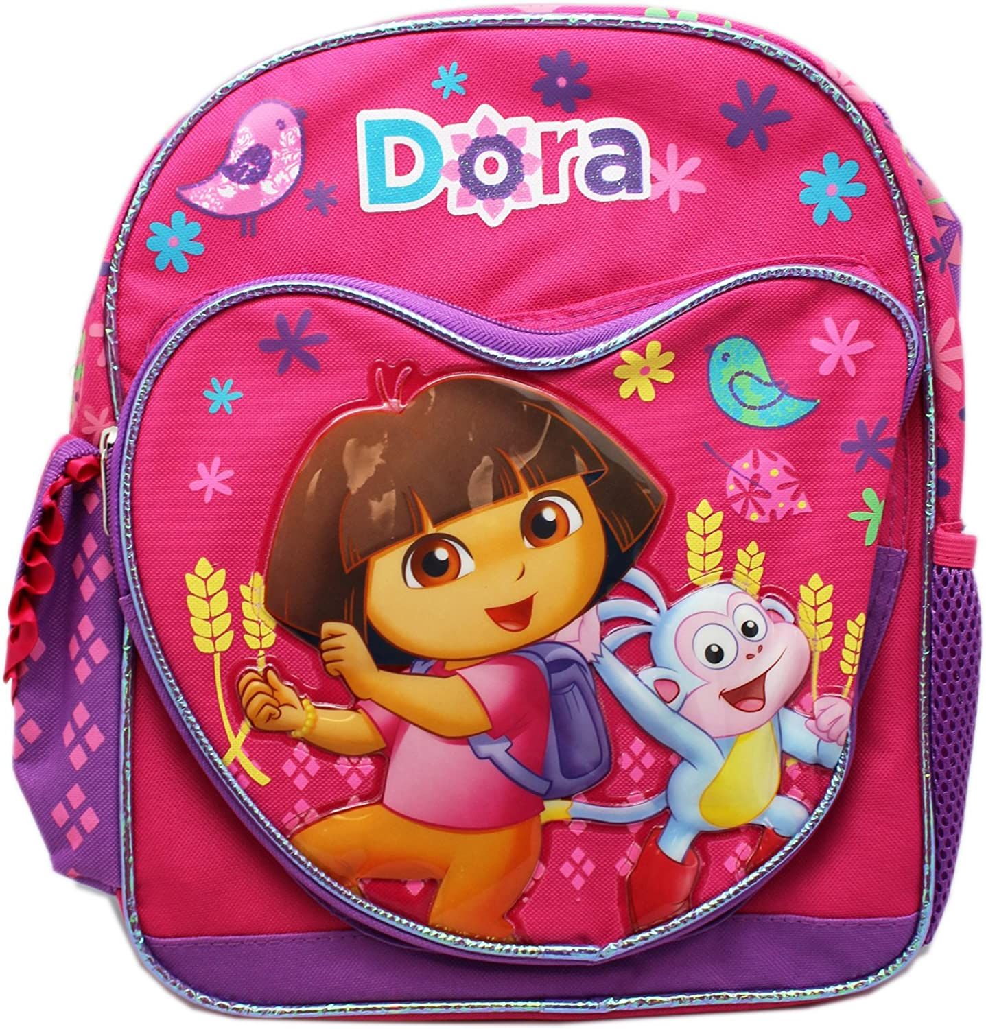 Small Size Pink Dancing Dora the Explorer and Boots Backpack