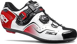 Sidi KAOS Road Cycling Shoes - White/Black/Red