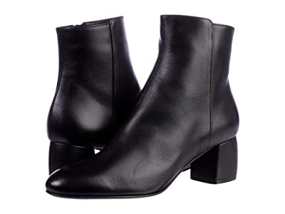 AGL Leather Ankle Boot (Nero) Women