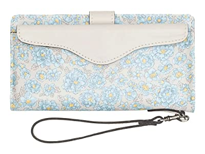 Patricia Nash Valentia (Pastel Turquoise Bouquet Print) Handbags