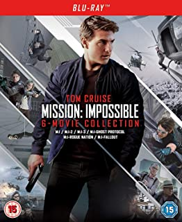 Mission: Impossible - The 6-Movie Collection Bonus 2018 Region Free