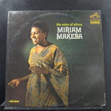 Miriam Makeba - The Voice Of Africa - Lp Vinyl Record