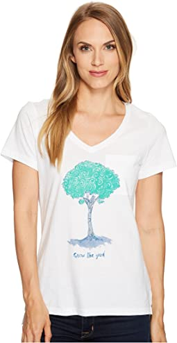 Life is Good - Tree Pocket Vibe Tee