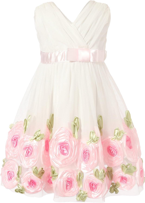 Richie House Little Girls' Princess Dancing Dress Size 12m-24m Rh1741