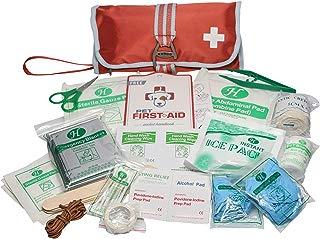 Kurgo Portable Dog First Aid Kit, Pet Medical Kit (50 Piece), One Size, Paprika