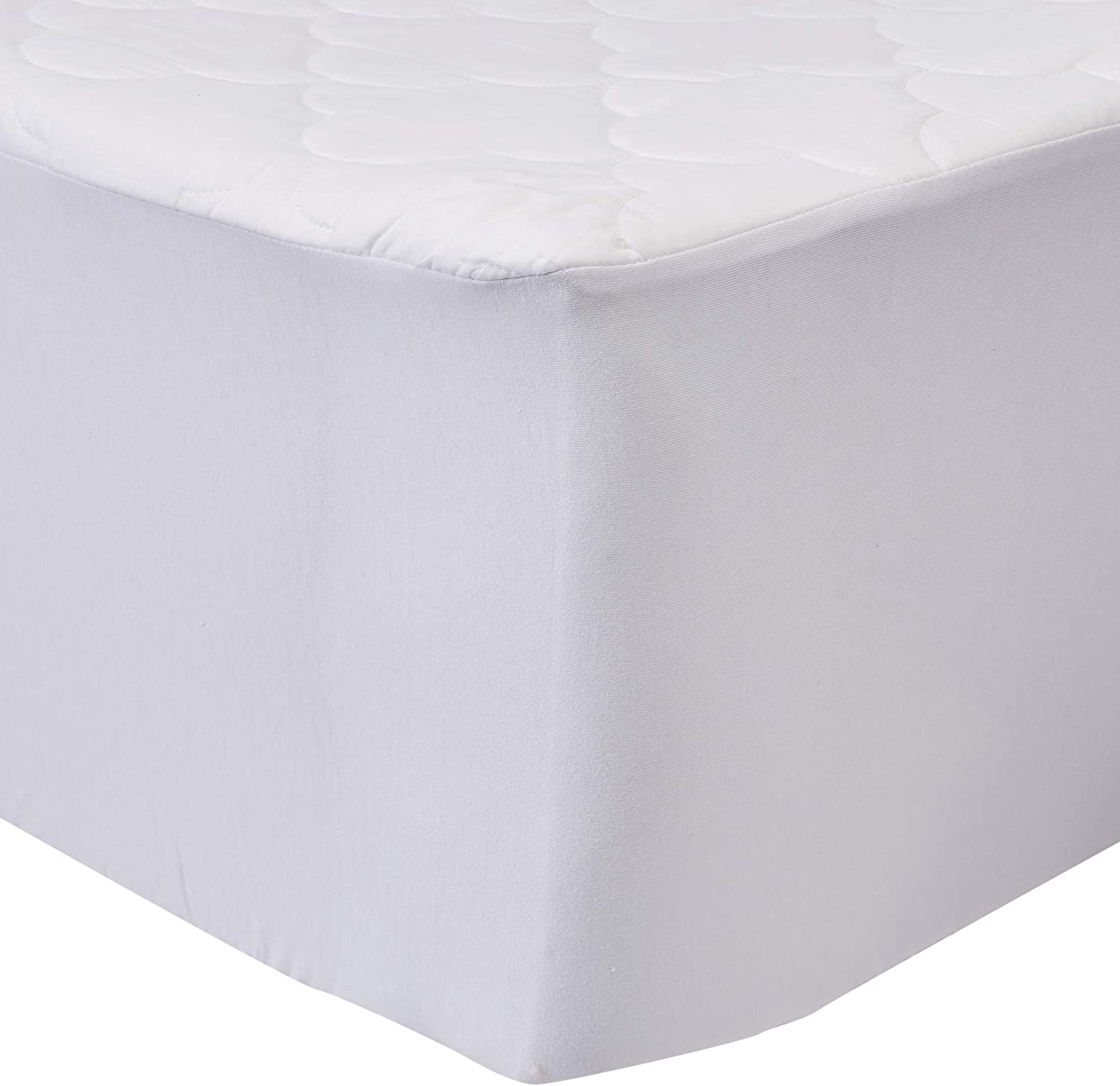 Sleep Philosophy All Natural Cotton Filled Mattress Pad, Full