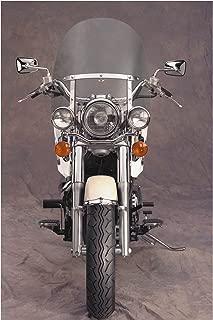 National Cycle N2301 Dakota 4.5 Windshield for Narrow Frame Yamaha Cruisers - One Size