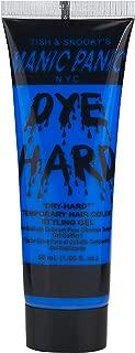 Manic Panic Electric Sky Blue Hair Color Gel - Dye Hard - Temporary Vivid Blue Hair Styling Gel - Glows Under Black Lights - Vegan Hair Dye For Adults & Kids of All Hair Types (1.66 oz)