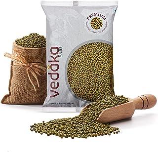 Vedaka Premium Green Moong Whole/Sabut, 500g