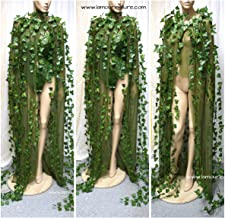 Poison Ivy Mother Earth Cape Cosplay Halloween Costume