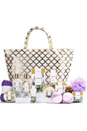 spa luxetique       Spa Gift Basket, Lavender Spa Gift Sets for Women, Luxury 15 Pcs Bath and Body Gift Set,Relaxing Home Spa Kit with Bubble Bath, Bath Bombs, Massage Oil. Beauty Gift Baskets for Women.           4.7 out of 5 stars     499        $36.97$36.97($36.97/Count)   10% coupon applied at checkout     Save 10%    with coupon                     FREE Shipping by Amazon