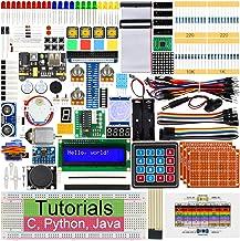 Freenove Ultimate Starter Kit for Raspberry Pi 4 B 3 B+ 400, 434-Page Detailed Tutorials, Python C Java Code, 223 Items, 5...