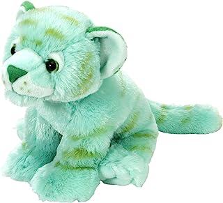Wild Republic Tiger Plush, Stuffed Animal, Plush Toy, Gifts For Kids, Mint Green, Cuddlekins 12 Inches
