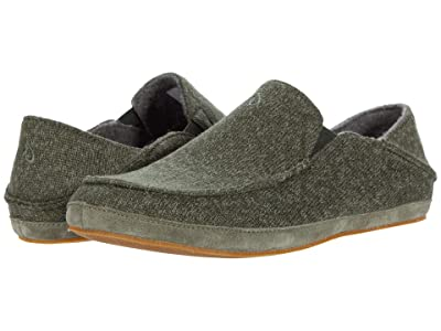 OluKai Moloa Hulu (Deep Olive/Dusty Olive) Men