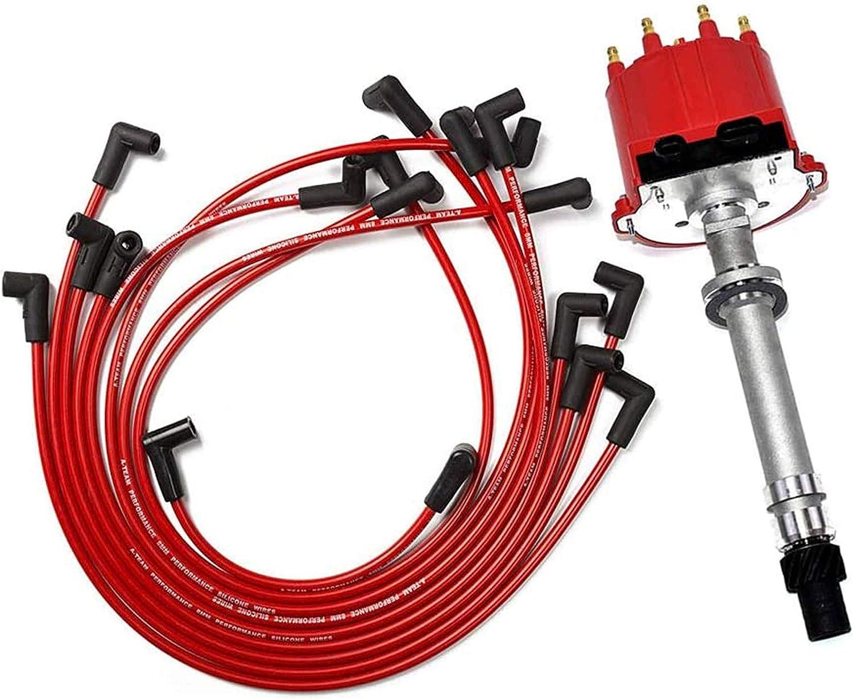A-Team Performance EFI Regular store Nashville-Davidson Mall TBI Distributor Plug Spark and Wires Comp