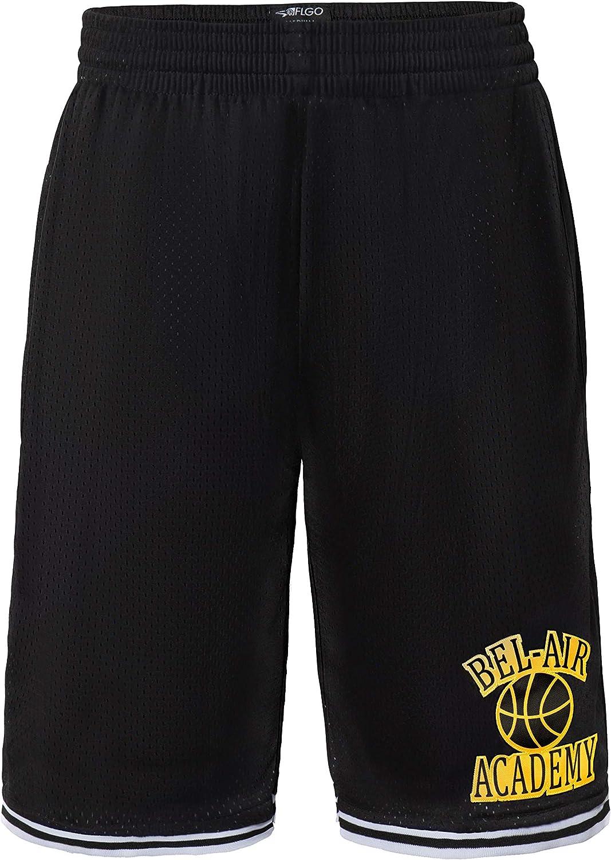 New Orleans Mall AFLGO Bel Air Academy Fresh Prince security Movie Stitc Basketball Shorts
