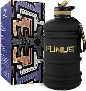 FUNUS Big Water Bottle BPA Free Half Gallon Water Bottle...