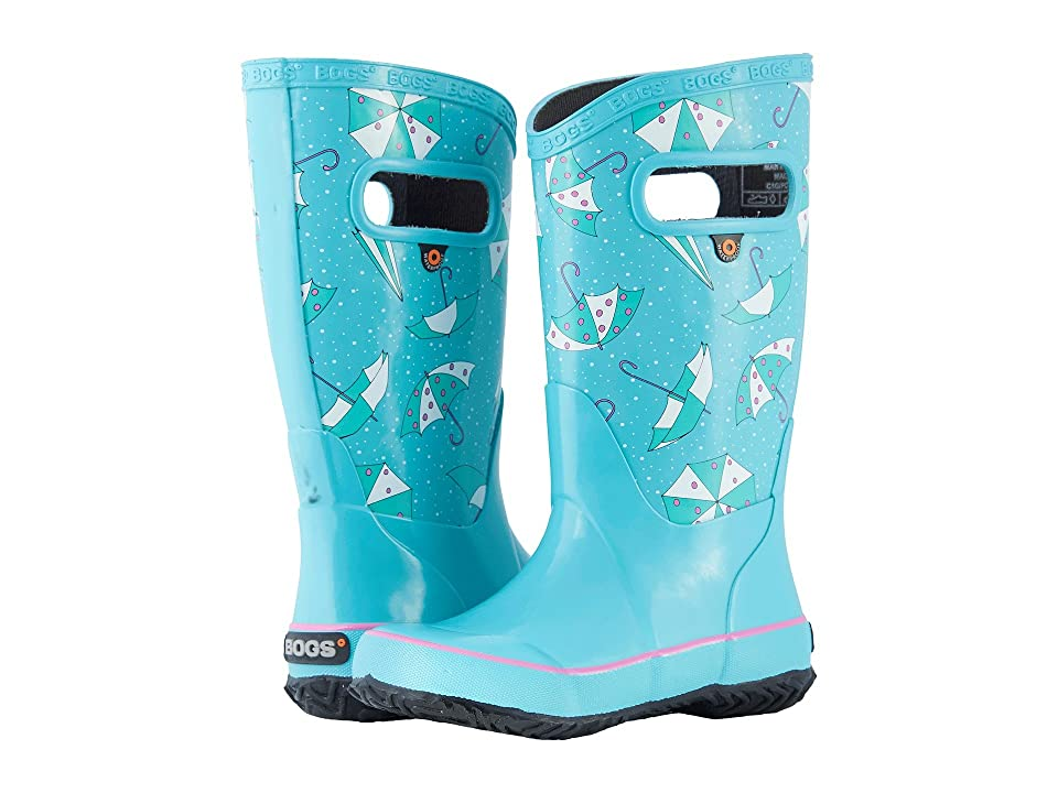 Bogs Kids Rain Boot Umbrellas (Toddler/Little Kid/Big Kid) (Tuquoise Multi) Girls Shoes