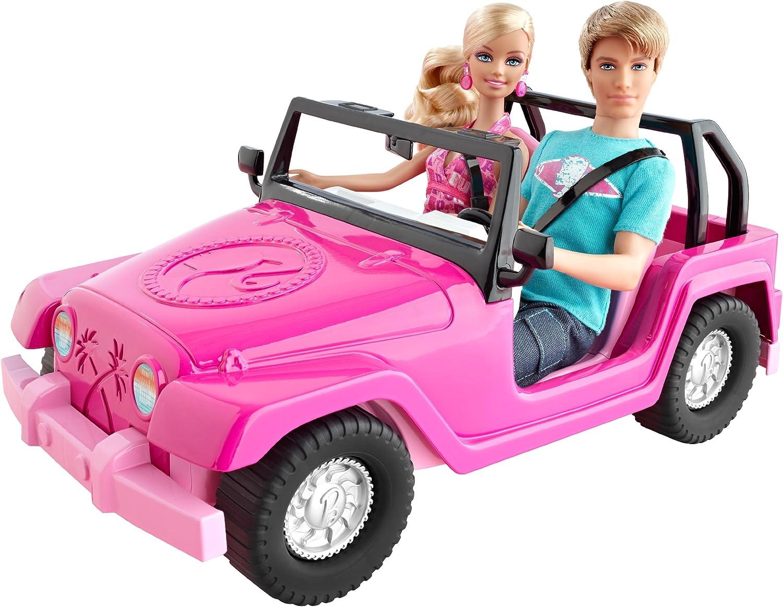 Mattel Barbie V0834 - Beach Cruiser Vehicle, Zubehr