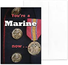 A Marine Now - US Marine Corps Boot Camp Graduation Greeting Card With Envelope - 5x7 - by 2MyHero