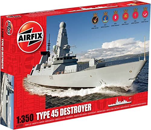 Airfix - Type 45 Destroyer, Ma ab 1 350