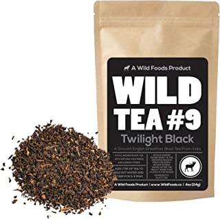 Black Tea From India, Wild Tea #9 Premium Organically Grown Loose Leaf Tea Black Tea (8 ounce)