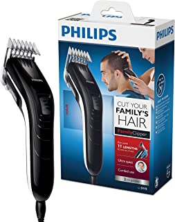 comprar comparacion Philips QC5115/15 - Cortapelos silencioso con peine de 11 posiciones, Cuchillas de acero inoxidable, Uso con cable, Compac...