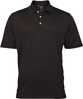 adidas Golf Climalite Mens Textured Solid Polo Shirt