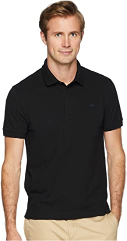Short Sleeve Solid Stretch Pique Regular