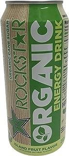 16 Pack Rockstar Organic Energy Drink - 15oz.