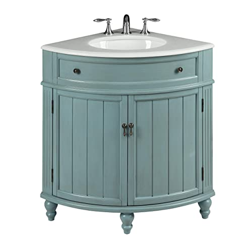 Corner Bathroom Vanities Amazoncom
