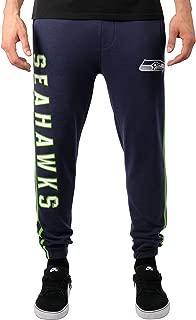 Ultra Game NFL Men's Active Fleece Jogger Sweatpants