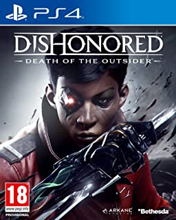 Dishonored Death of the Outsider By Bethesda Region 2 - PlayStation 4