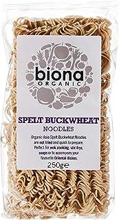 Biona Spelt Buckwheat Asia Noodles Organic Vegan, 250 gms