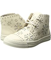 Stella McCartney Kids - Alonzo High Top Daisy Cut Out Sneakers (Little Kid/Big Kid)