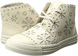 Alonzo High Top Daisy Cut Out Sneakers (Little Kid/Big Kid)