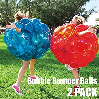WinFun 2019 Inflatable Bumper Balls - Inflatable Battle Body Bubble Ball Bumper Bopper Gifts for Kids and Adults 36