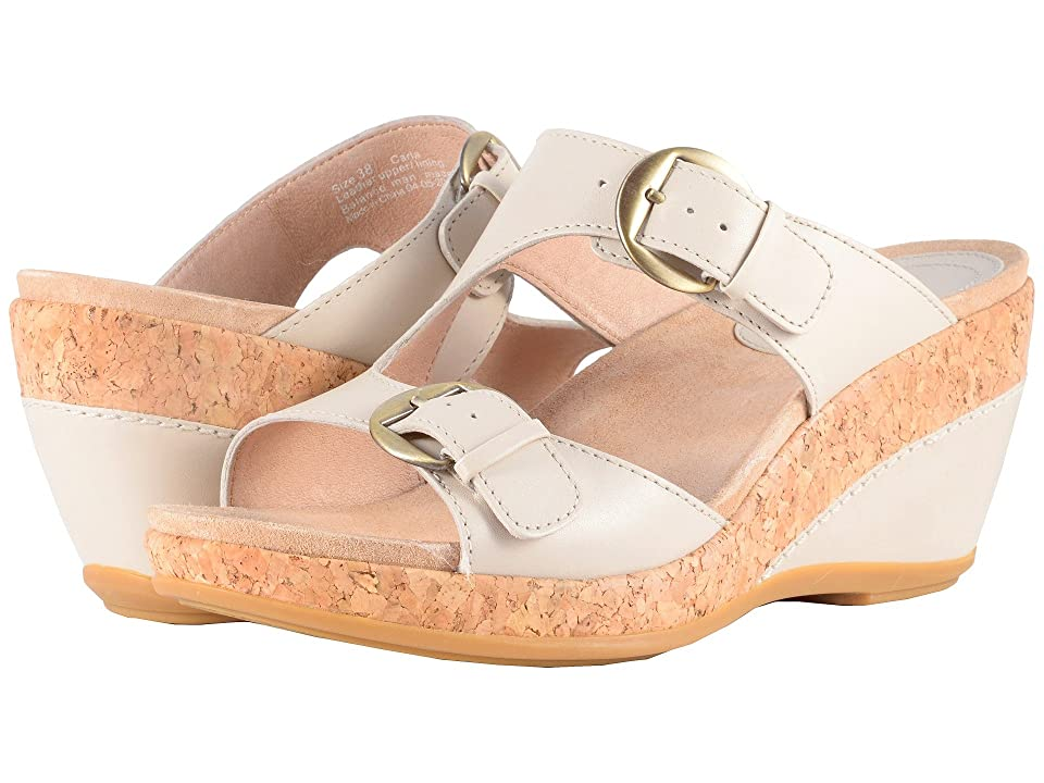 Dansko Carla (Ivory Full Grain) Women