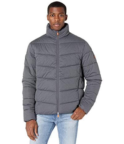 Save the Duck Angy Stretch Puffer Jacket (Opal Grey Melange) Men