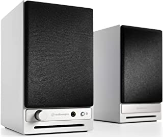 Audioengine HD3 60W Wireless Powered Desktop Speakers, Bluetooth aptX HD, USB 24-Bit DAC & Analog Amplifier (White)