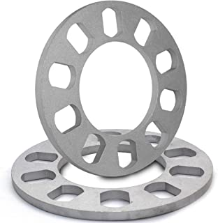 8mm Thickness Universal Wheel Spacers for 5x100mm, 5x105mm, 5x108mm (5x4.25), 5x110mm, 5x112mm, 5x114.30mm (5x4.50), 5x115mm, 5x120.65mm (5x4.75), 5x120mm