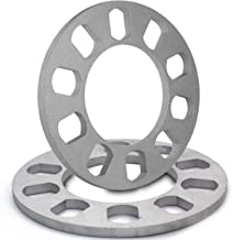 Universal Wheel Spacers 8mm Thickness for 5x100mm, 5x105mm, 5x108mm (5x4.25), 5x110mm, 5x112mm, 5x114.30mm (5x4.50), 5x115mm, 5x120.65mm (5x4.75), 5x120mm