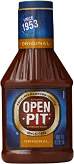Open Pit Blue Label Original Barbecue Sauce, 18 oz. (Pack of 12)