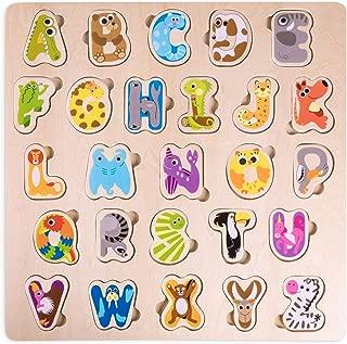 Professor Poplar's Animal Alphabet Puzzle Board   Children's 11