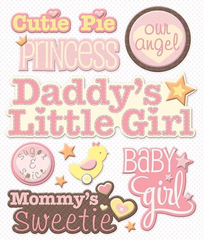 K&Company Baby Girl Names Sticker Medley