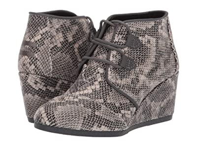 TOMS Kala (Black Multi Faux Snake) Women
