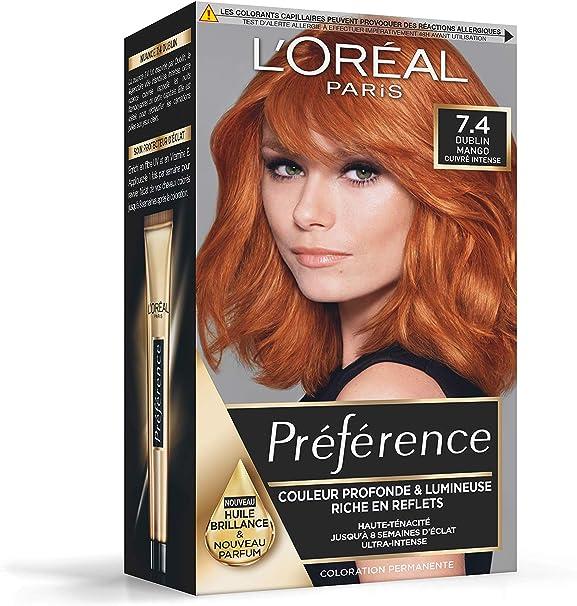 L Oréal Paris Préférence - Coloración permanente, cobre ...
