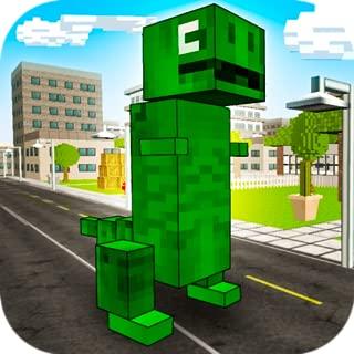 Cube Monster Mayhem 3D: Dino Unchained